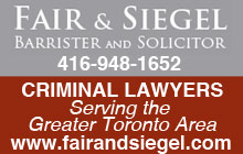 Toronto Criminal Lawyers
