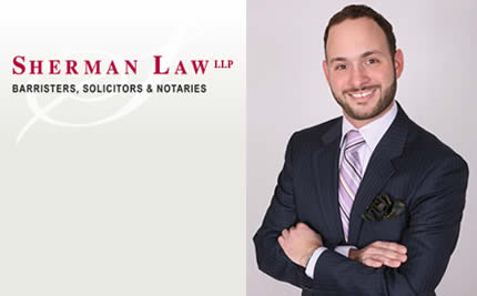 Kitchener Lawyer - Aubrey J. Sherman