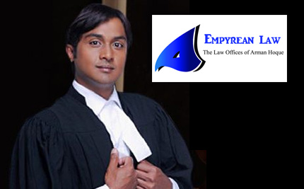 Mississauga Lawyer - Arman  Hoque