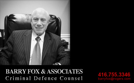 Toronto Lawyer - Barry  Fox