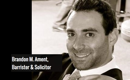 Toronto Lawyer - Brandon M. Ament